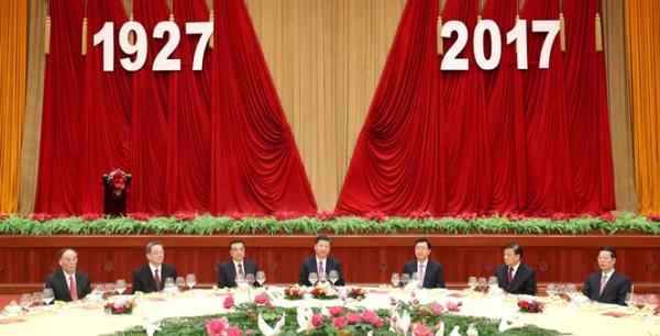 Китайское руководство поздравило НОАК с юбилеем|Фото: news.cn
