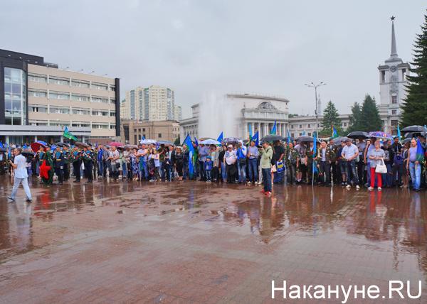 День ВДВ, Екатеринбург Фото: Накануне.RU