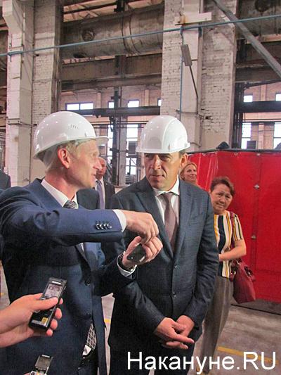 Евгений Куйвашев, посещение города Артемовский, предприятие Вентпром|Фото: Накануне.RU