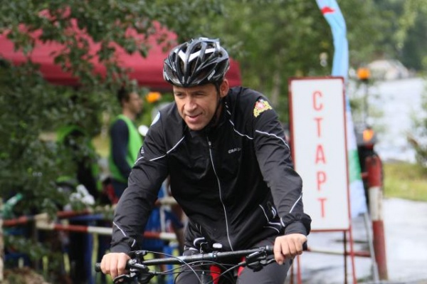 Евгений Куйвашев велопробег Тур Де Шарташ|Фото: ДИП губернатора Свердловской области