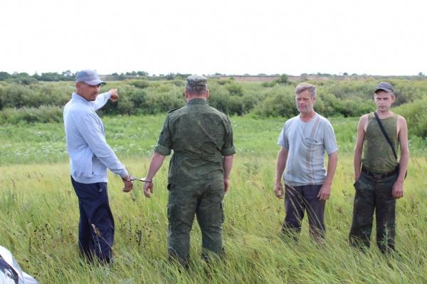 нарушитель, граница, иностранец, Тобол, ФСБ|Фото:пограничное управление ФСБ по Курганской и Тюменской областям