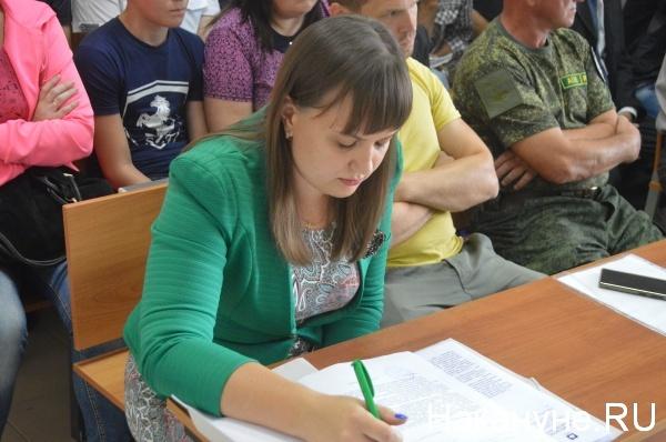 Надежда Столярова, представитель правительства Зауралья|Фото:Накануне.RU
