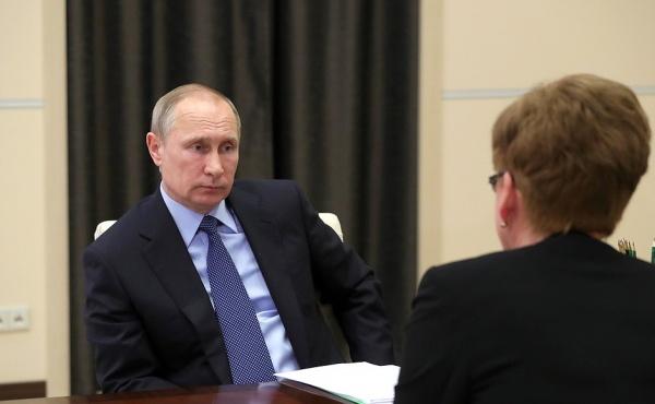 Владимир Путин Наталья Жданова|Фото: пресс-служба президента России