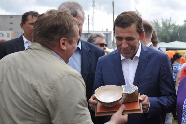 Евгений Куйвашев, Ирбитская ярмарка Фото: Департамент информационной политики губернатора СО