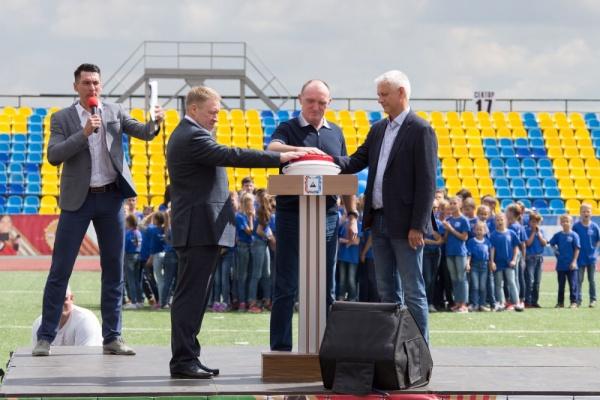 Борис Дубровский, открытие стадиона в Магнитогорске,|Фото: пресс-служба губернатора Челябинской области