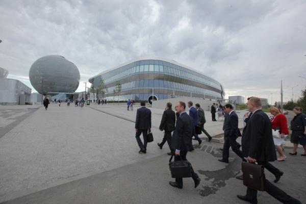 Евгений Куйвашев в Астане, ЭКСПО-2017 Фото: Департамент информационной политики губернатора СО