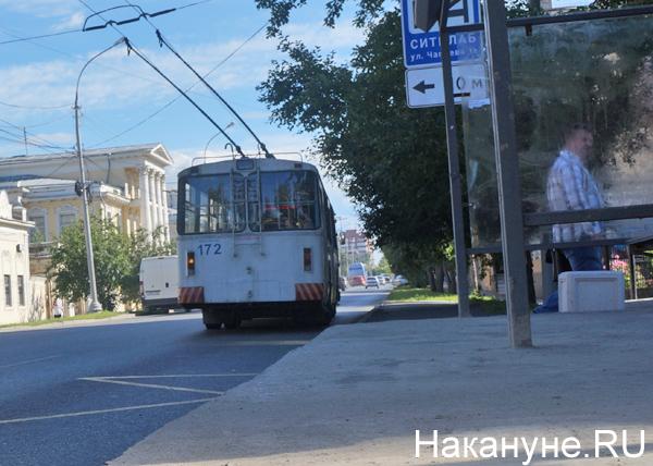 транспорт, общественный транспорт, транспортная реформа, Екатеринбург, троллейбус(2017) Фото: Накануне.RU