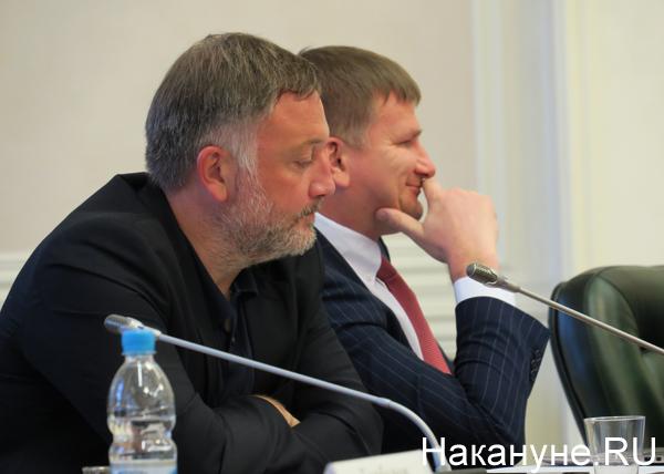 полпредство, совещание по информационной безопасности, Иван Еремин, Дмитрий Федечкин|Фото: Накануне.RU