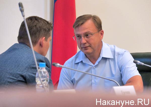полпредство, совещание по информационной безопасности, Сергей Салыгин, Павел Белявский|Фото: Накануне.RU