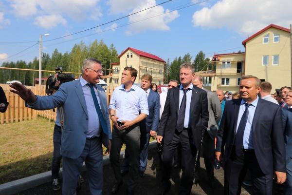 Евгений Куйвашев, Андрей Козицын|Фото: Департамент информационной политики СО