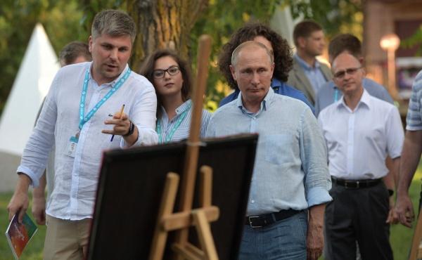 "Владимир Путин, Сергей Кириенко, форум ""Таврида""|Фото: kremlin.ru"