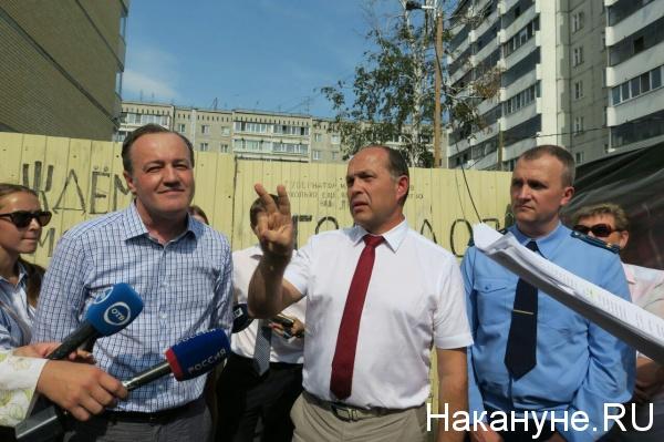ЖСК Кольцовский, Бахчиванджи 15, голодовка|Фото: Накануне.RU