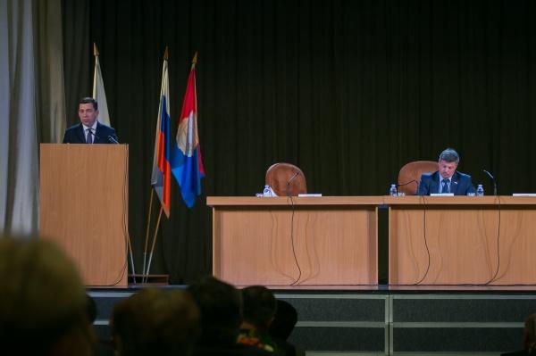 Евгений Куйвашев, встреча с профсоюзами|Фото: Департамент информационной политики СО
