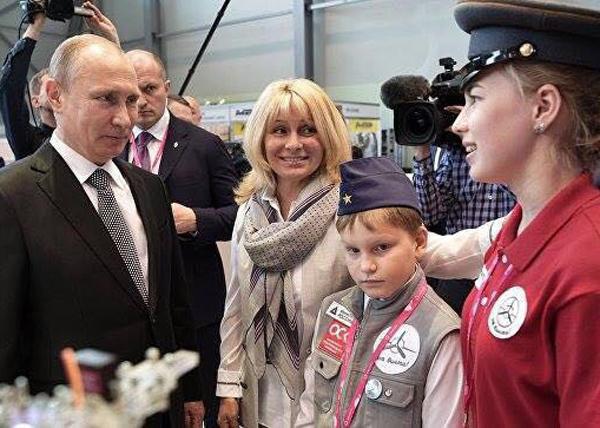 иннопром,Путин, Александра Козлова, лицей 110|Фото: лицей110.екатеринбург.рф