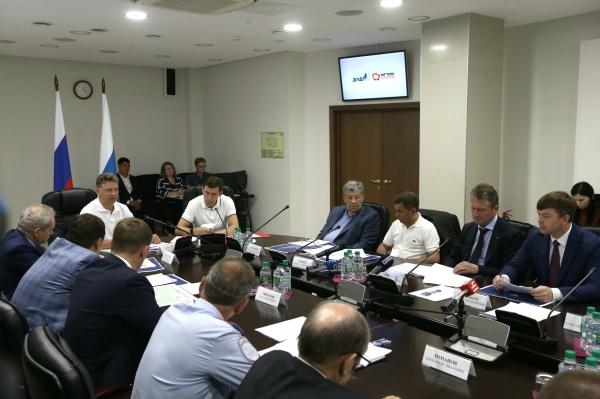 Максим Соколов, Евгений Куйвашев, совещание|Фото: Департамент информационной политики СО