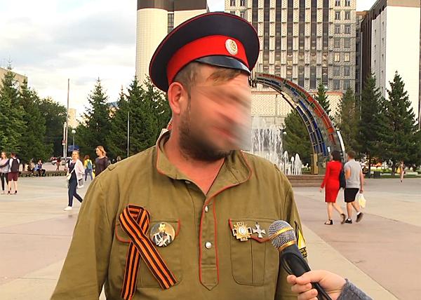 Денис М., подозреваемый в поджоге ККТ Космос|Фото: youtube.com