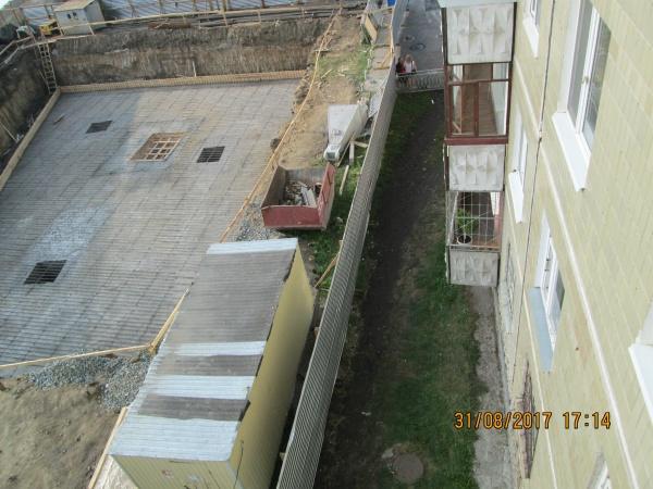 Репина 88 котлован строительство|Фото: жители дома на Репина 88