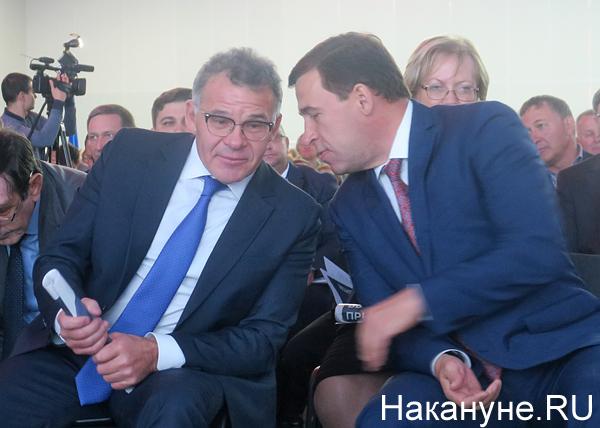Владимир Тунгусов, Евгений Куйвашев|Фото: Накануне.RU