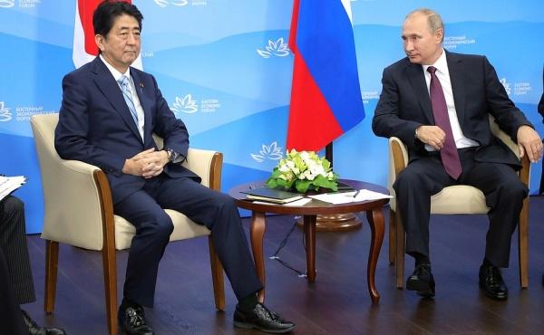 Владимир Путин и Синдзо Абэ|Фото: http://kremlin.ru