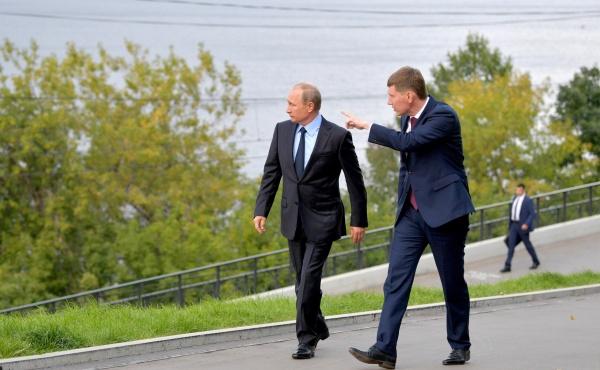 Владимир Путин, Бабич, Максим Решетников|Фото: kremlin.ru