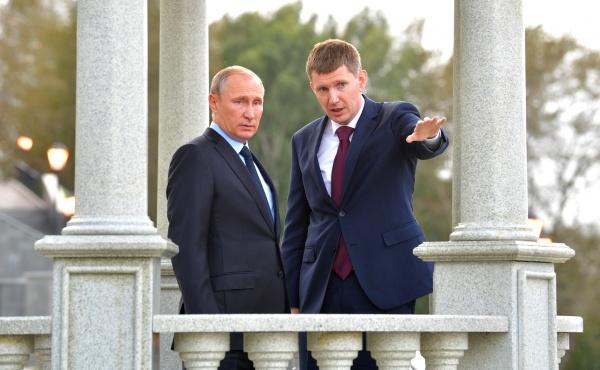Владимир Путин, Максим Решетников|Фото: kremlin.ru
