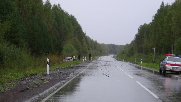 авария, Мицубиси, Серов, ДТП|Фото:ГИБДД Свердловской области