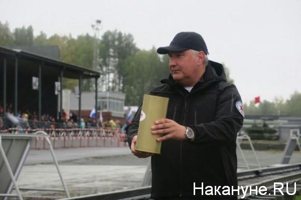 Дмитрий Рогозин, Нижний Тагил, День танкиста|Фото:Накануне.RU
