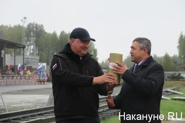 Уралтанк, День танкиста, Нижний Тагил, Дмитрий Рогозин|Фото: Накануне.RU