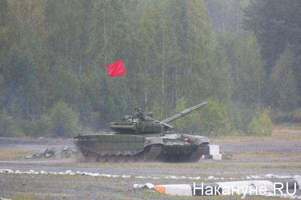Уралтанк, День танкиста, Нижний Тагил, танковый биатлон|Фото: Накануне.RU