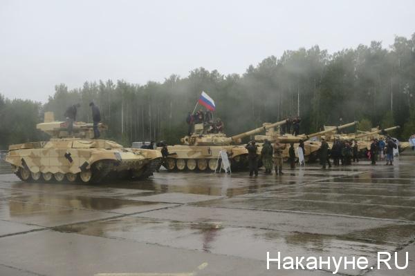 Уралтанк, День танкиста, Нижний Тагил|Фото: Накануне.RU