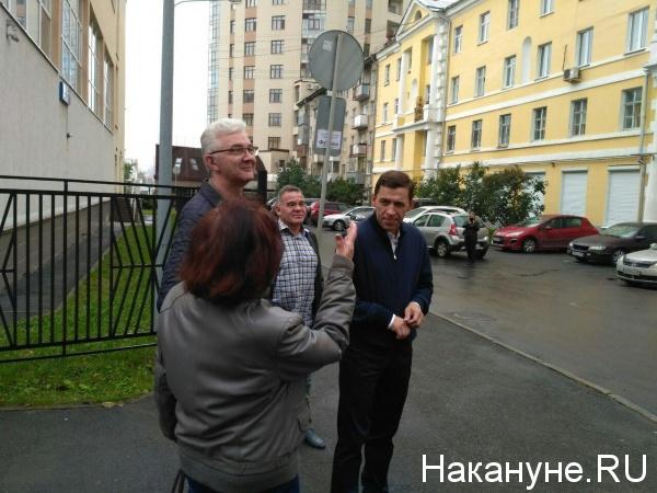 Евгений Куйвашев голосование 10 сентября 2017|Фото: Накануне.RU