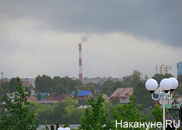 завод, труба, дым, экология, Нижний Тагил Фото: Накануне.RU