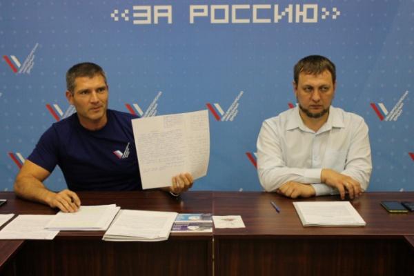 Денис Рыжий, Евгений Коробейников,|Фото: ОНФ Челябинская область
