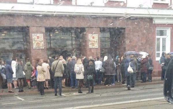 Пермь, эвакуация, сообщение о бомбе|Фото: vk.com