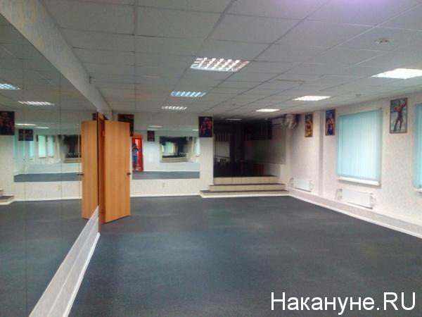 спортшкола Атлет, детский клуб Левушка, пустой зал,|Фото: Накануне.RU
