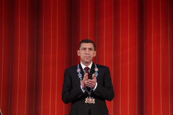 Евгений Куйвашев принял присягу губернатора Свердловской области