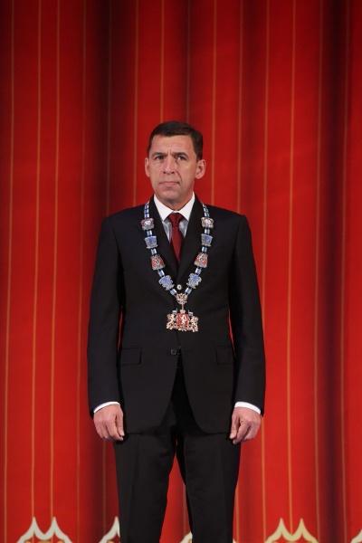 Евгений Куйвашев инаугурация Фото: ДИП губернатора Свердловской области