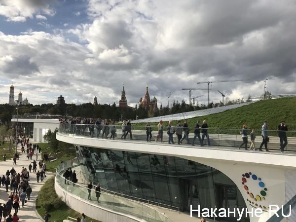 парк зарядье, Москва(2017)|Фото: nakanune.ru