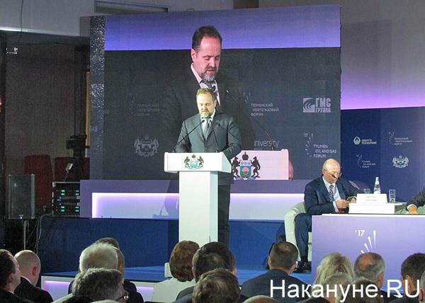 Тюменский нефтегазовый форум, Сергей Донской|Фото: Накануне.RU