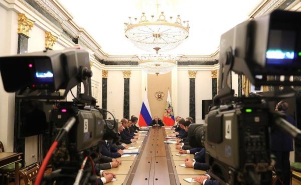 Владимир Путин встреча с губернаторами|Фото: пресс-служба президента РФ