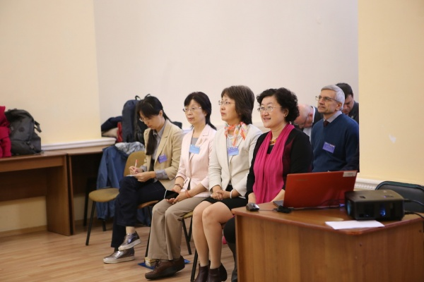 Представители Синьцзянского университета, г. Урумчи, КНР|Фото: пресс-служба НГУ