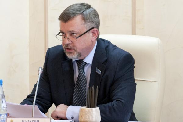 Председатель комитета заксобрания Ямала по экономической политике, бюджету и финансам Виктор Казарин(2017)|Фото: zsyanao.ru