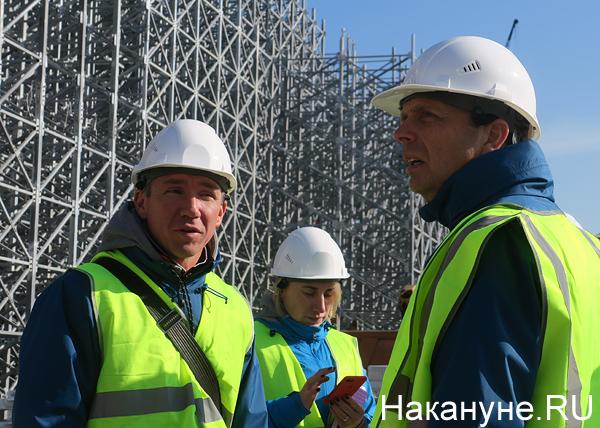Алексей Сорокин, Колин Смит, Екатеринбург-Арена, Центральный стадион|Фото: Накануне.RU