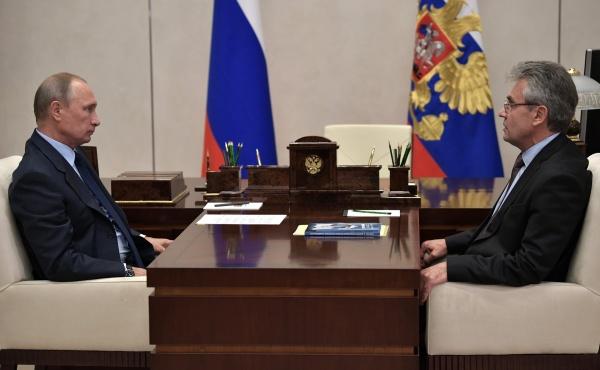 Владимир Путин, Александр Сергеев|Фото:kremlin.ru