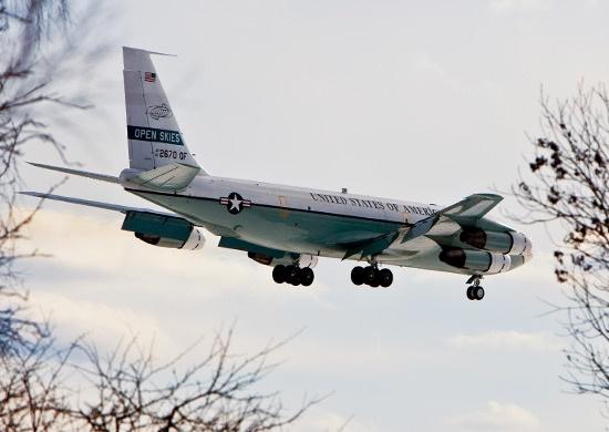 американский самолёт, наблюдательный полёт|Фото: stat.mil.ru