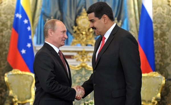 Президент РФ Владимир Путин и его венесуэльский коллега Николас Мадуро(2017)|Фото: kremlin.ru