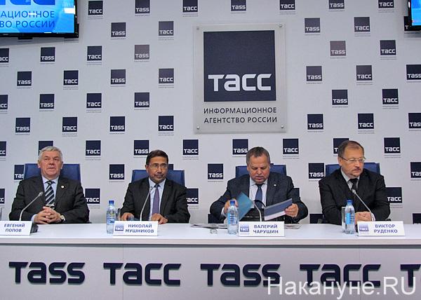 Евгений Попов, Николай Мушников, Валерий Чарушин, Виктор Руденко|Фото: Накануне.RU