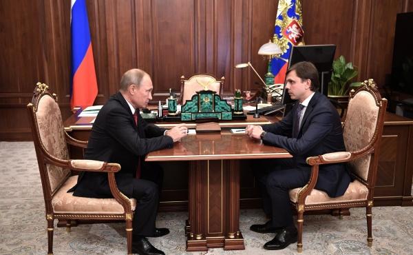 Владимир Путин, Андрей Клычков|Фото:http://kremlin.ru/