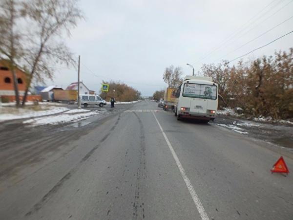 авария, переход, ребенок, ГАЗель, автобус, бульвар Мира|Фото:ГИБДД УМВД России по Курганской области