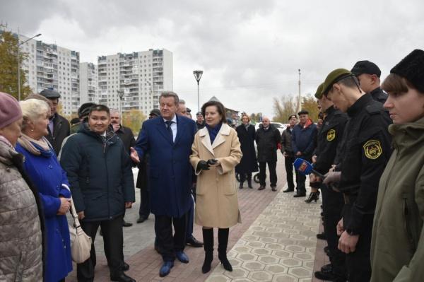 Наталья Комарова, приемка Комсомольского бульвара|Фото: admhmao.ru